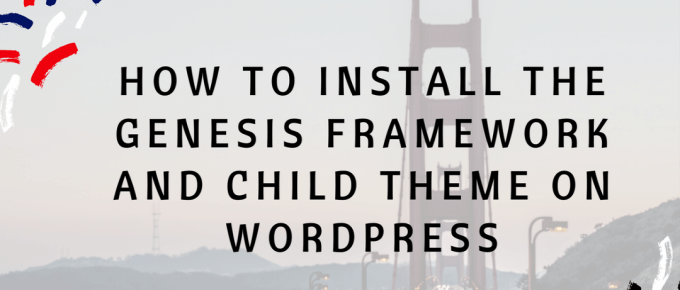 How To Install Genesis on WordPress #wordpresstips #genesisframework
