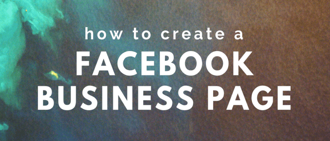 how to create a facebook business page #facebookbusinesspage
