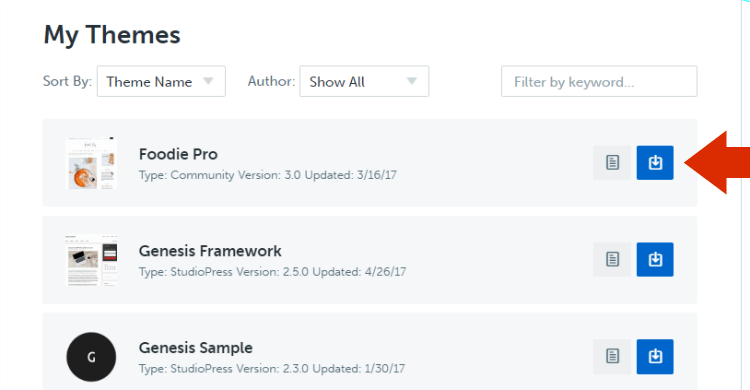 install Genesis Framework and Child Themes on WordPress