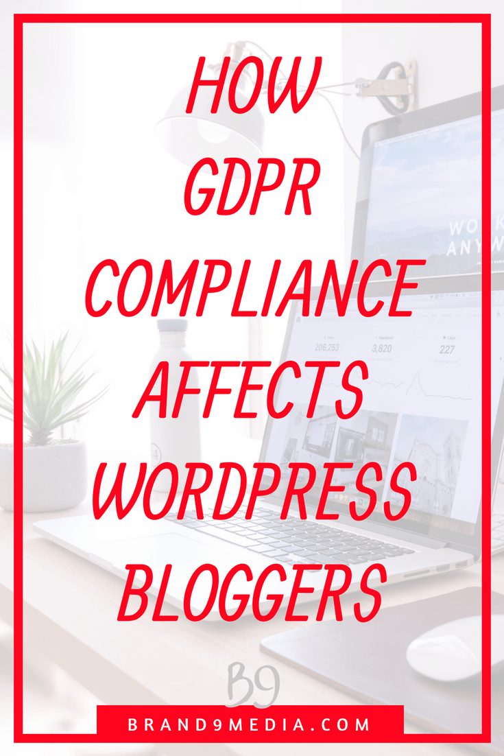 GDPR Compliance Affects WordPress Bloggers