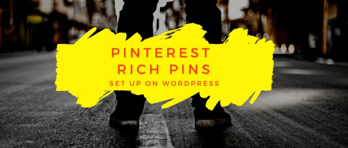 How to Add Pinterest Rich Pins on WordPress